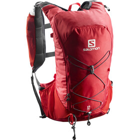 Salomon Agile 12 Backpack Set Barbados Cherry/Graphite